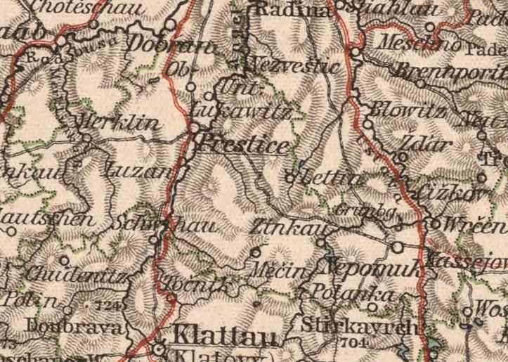 Bildergebnis für Prestitz historische landkarte
