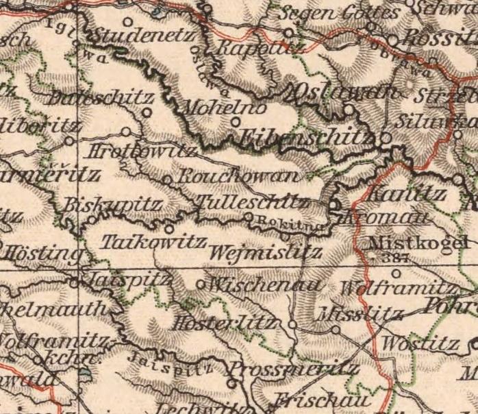 Bildergebnis für mährisch kromau karte